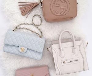bag, chanel, and gucci image