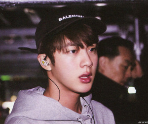 jin, bts, and kim seokjin image