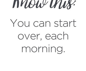 quotes, start, and morning image