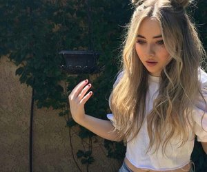 hair, sabrina carpenter, and sabrina image
