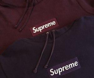 hype, purple, and supreme image