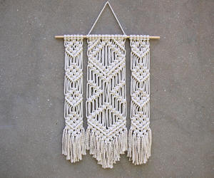 cotton, wall decoration, and etsy image