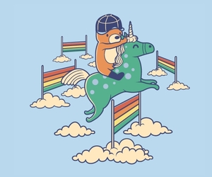 bear, threadless, and equestrian image
