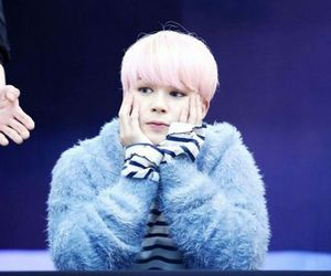 colored hair, handsome, and jimin image