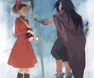 ghibli, arietty, and studio ghibli image