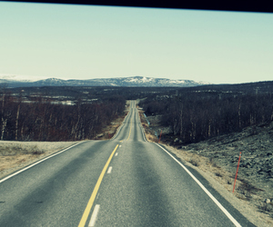 finland, highway, and long image