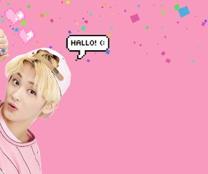 mark lee, pink, and wallpaper image
