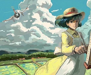 ghibli, studio ghibli, and the wind rises image