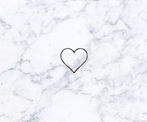 background, heart, and marble image