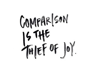 quotes, joy, and comparison image