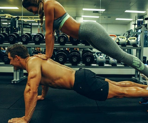 couple and fitness image