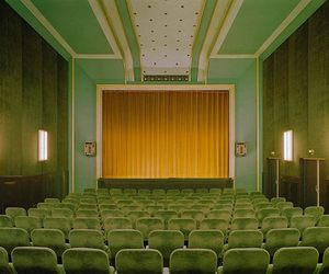 green, vintage, and theater image