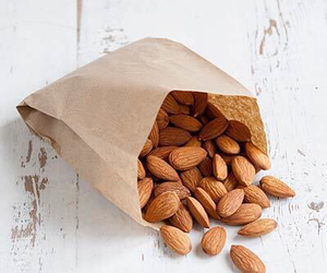 food, almond, and healthy image