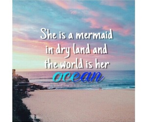 frases, mar, and mermaid image