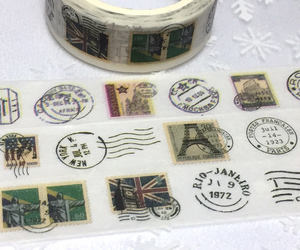 air mail, eiffel tower, and british image