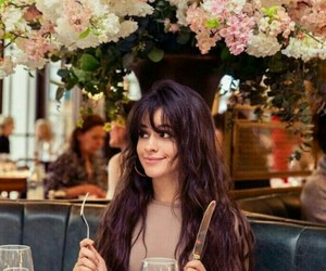 flores, food, and camila cabello image