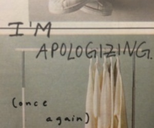 apologize and words image