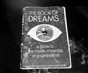 Dream, book, and eye image