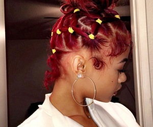 africa, curls, and edges image