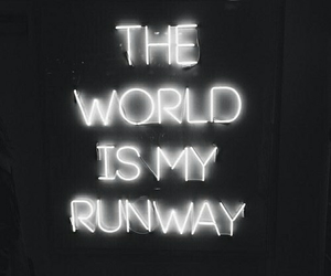 quote, light, and neon image
