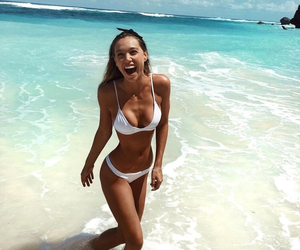 beach, summer, and alexis ren image