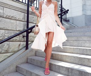 blogger, dress, and boho image
