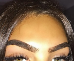 brows and fleeky make up image