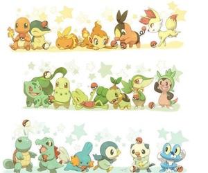 starters and pokemon image