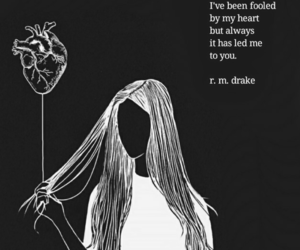 heart, quote, and rmdrake image