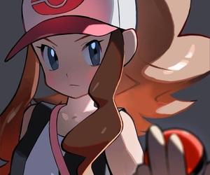 pokemon, hilda, and white image