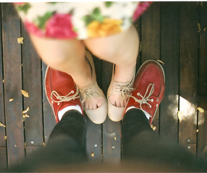 couple, love, and shoes image