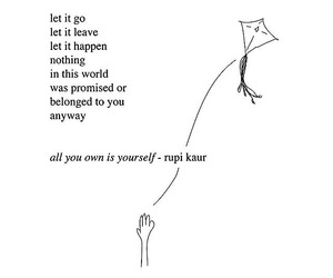 quotes, rupi kaur, and words image