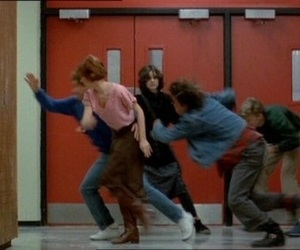 The Breakfast Club, 80s, and aesthetic image