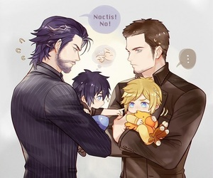 final fantasy, cute, and noctis image