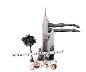 Collage, motivation, and new york image