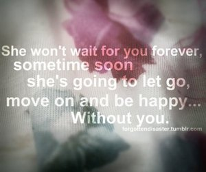 forever, happy, and quote image