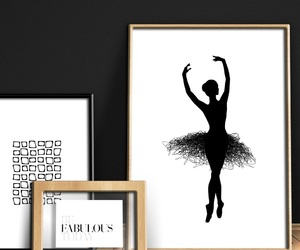 abstract art, awesome, and ballerina image