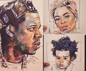 blue, queen bey, and jayonce image