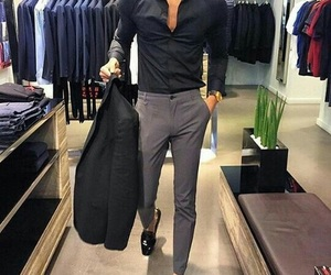 fashion, luxury, and men image