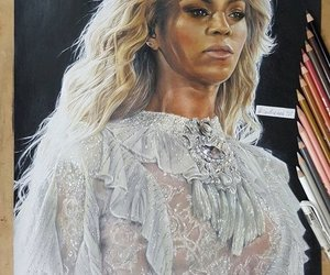 beyonce art, queen bey, and mrs carter image
