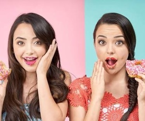 merrell twins, donuts, and twins image