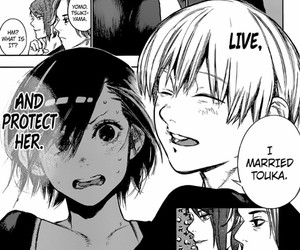 married, touka, and love image