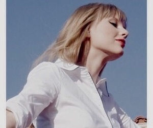 blonde, Taylor Swift, and sky image