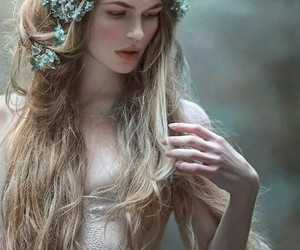 girl, fairy, and fantasy image