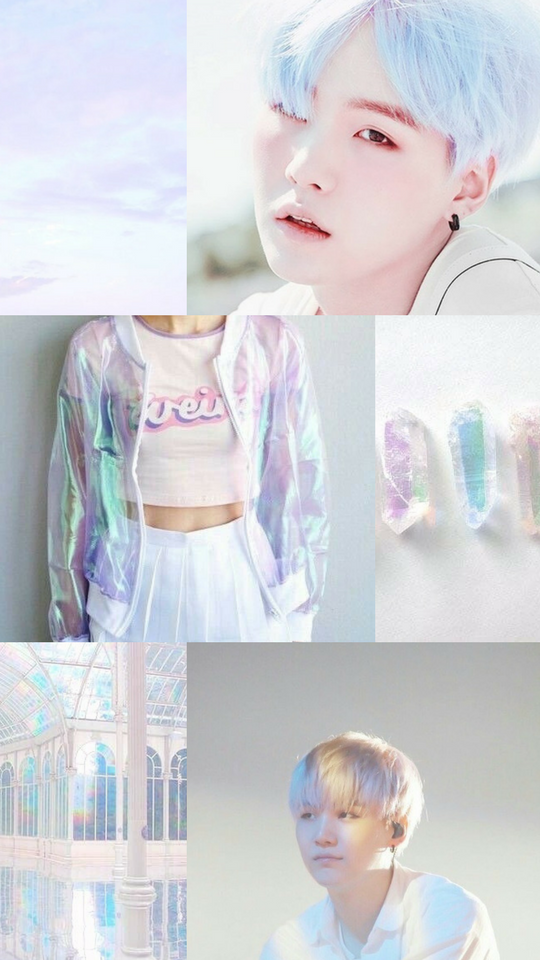 Wallpaper Yoongi Rainbow Aesthetic Made By Me 3