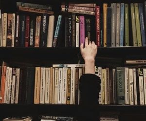 book, vintage, and reading image