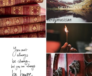 ginny weasley, gryffindor, and harry potter image