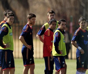 fernando torres, spain, and xavi image