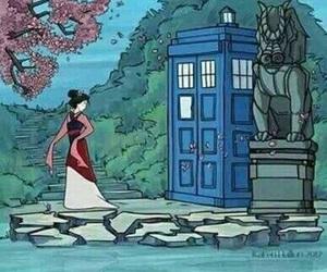 doctor who, mulan, and disney image