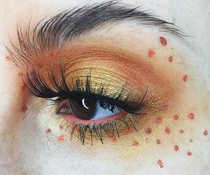 makeup and yellow image